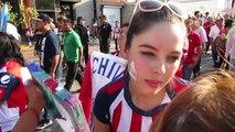PARTIDO EN GLORIETA MINERVA, GUADALAJARA CHIVAS VS TIGRES. CHIVAS CAMPEONES LIGA MX