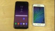 Samsung Galaxy S8 Plus vs. Samsung Galaxy J1 - Which Is Faster