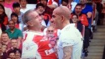 Winterburn vs Di Canio (Arsenal Legends v Ac Milan Legends)