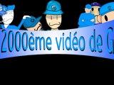 La 2 000ème vidéo sur YouTube (Projet FINI)