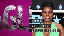 Leslie Jones Reveals The Celebrities She Wants To Kiss The Most | Emmys 2017 | Entertainment Weekly
