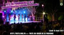 Fete de Pourrieres Spectacle comedie musicale variétés 14aout2017