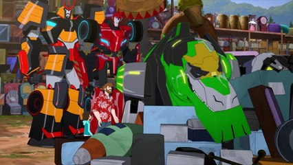 Transformers: Robots in Disguise: Combiner Force: Episode 13: The Fastest Bot Alive!