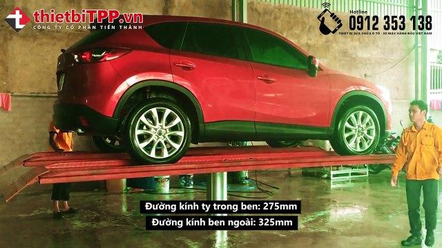 Cầu nâng 1 trụ rửa xe ô tô, Cầu nâng 1 trụ rửa xe 4 tấn, cầu nâng ô tô 1 trụ