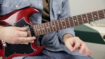 AC/DC Angus Young Style Fast Pentatonic Lick From TNT Lead Guitar Lesson Rock Guitar Soloi