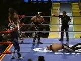 Debut de Rey Mysterio y Psicosis I en el CMLL.