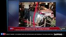 Seine et Marne : Un conducteur fonce dans une pizzeria et tue une jeune fille (Vidéo)