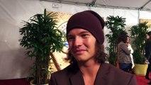 Jay Starrett chats on red carpet at Survivor: Millennials vs. Gen X season 33 finale