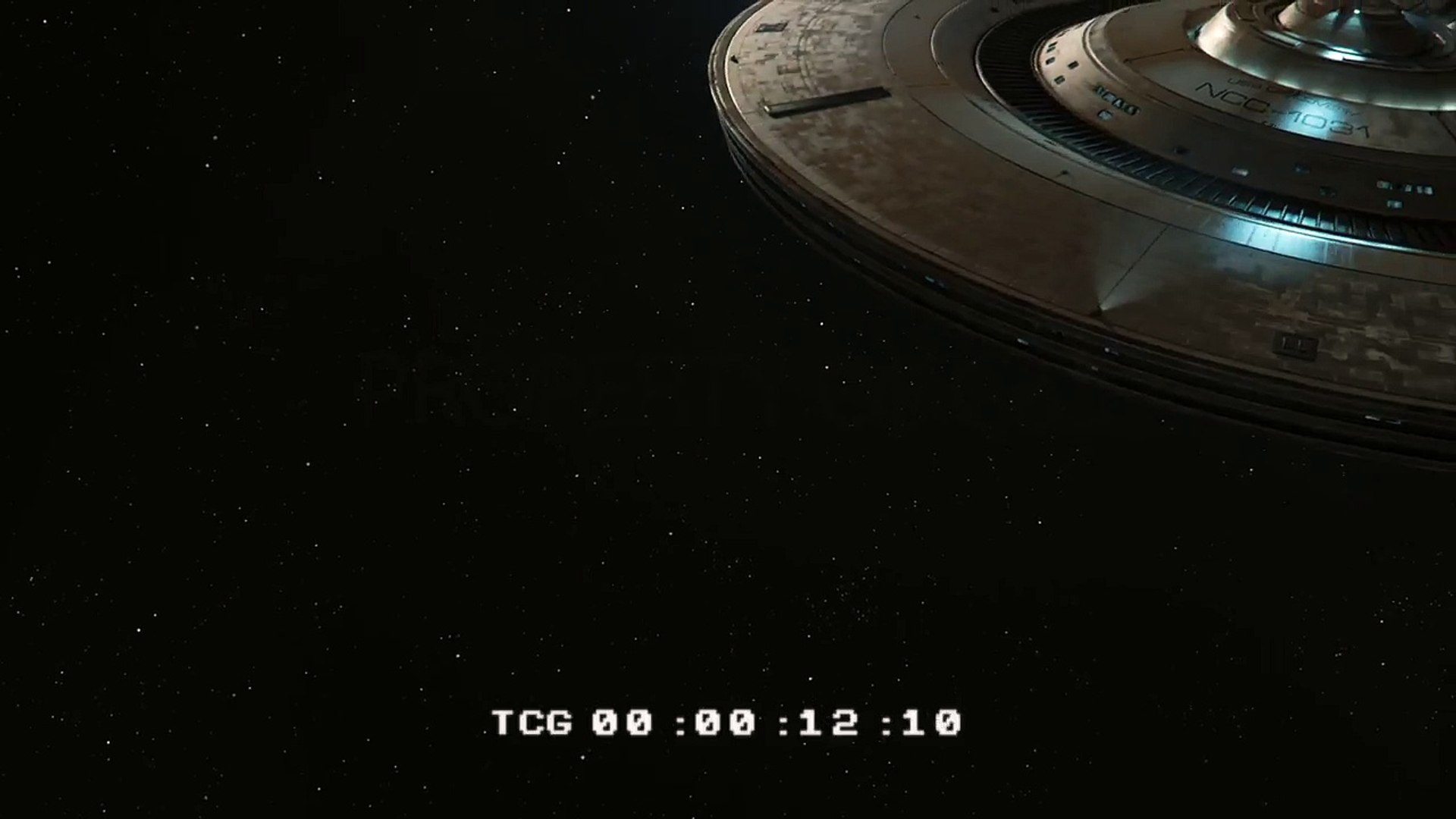 Star Trek Discovery USS Discovery Animation