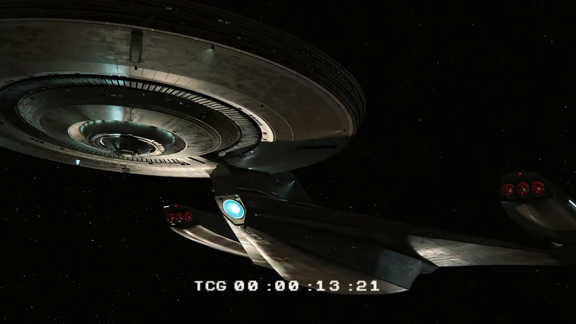 Star Trek Discovery USS Discovery Animation 2