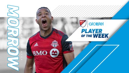 Justin Morrow clinical in Week 22 | Alcatel Player of the Week