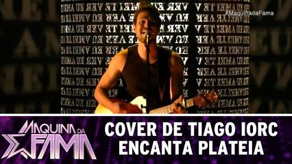 Cover de Tiago Iorc encanta plateia