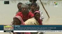 Al menos 91 muertos por lluvias e inundaciones en Nepal
