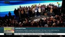 teleSUR noticias: Venezolanos rechazan intervención estadounidense
