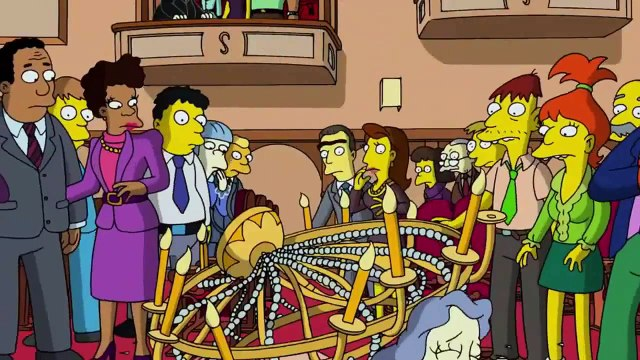 The Simpsons - Bart becomes a smart robot of the future (1)