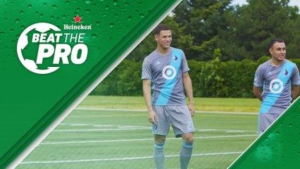 Teammates battle it out in Minnesota | Beat the Pro pres. by Heineken