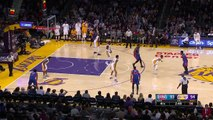 Detroit Pistons at Los Angeles Lakers January 15,2017