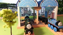 Épisode vacances domestiques sur chemin de fer le le le le la en bois Thomas a mis 3