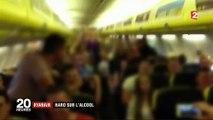 Transports : une compagnie aérienne en lutte contre l'alcoolisme des passagers à bord