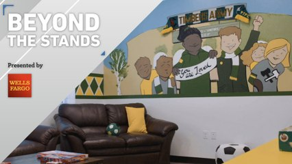 Timbers Army supports foster kids | Beyond the Stands pres. by Wells Fargo