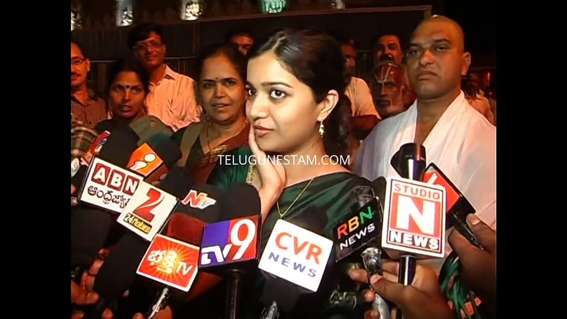 Telugu Actress Colours Swathi exclusive video