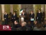 Secretario de Hacienda Luis Videgaray anuncia recorte al gasto publico/Excélsior informa