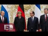 Cumbre de Minsk alcanza acuerdo de alto el fuego en Ucrania/ Global