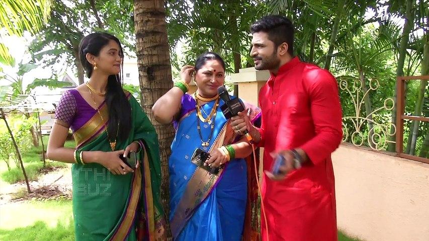 Ghadge & Soon | Starcast Introduction | Colors Marathi Latest TV Show |  Chinmay Udgirkar, Sukanya