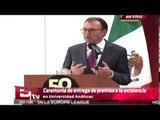 Ceremonia de entrega de premios a la excelencia en Universidad Anáhuac / Excélsior