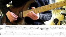 How to play Adrian Smiths solos #2 The Evil That Men Do (with tablatures and backing trac