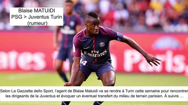 JT du Mercato (16/08/17) : Matuidi vers Juventus, Mangala vers Inter Milan, Mbappé vers PSG...