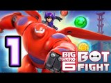 Big Hero 6 Bot Fight Walkthrough (iOS, Android) Gameplay Part 1