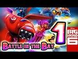 Disney Big Hero 6: Battle in the Bay (DS) Walkthrough Part 1 - Level 1 & 2