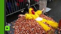 Belgique : une omelette géante de 6 500 œufs en plein scandale du fipronil à Malmedy
