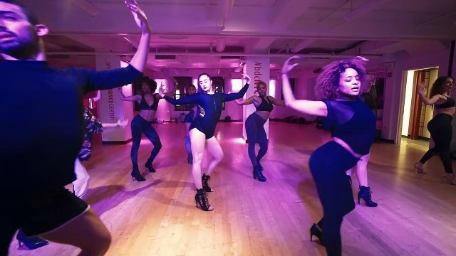 YANIS MARSHALL HEELS CHOREOGRAPHY TOO FUNKY GEORGE MICHAEL. BROADWAY DANCE CENTER NEW YORK