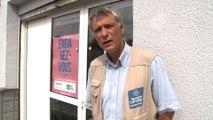 Calais: l'installation des sanitaires pour les migrants a débuté