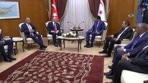 KKTC Başbakanı Özgürgün, Bakan Ağbal'ı Kabul Etti