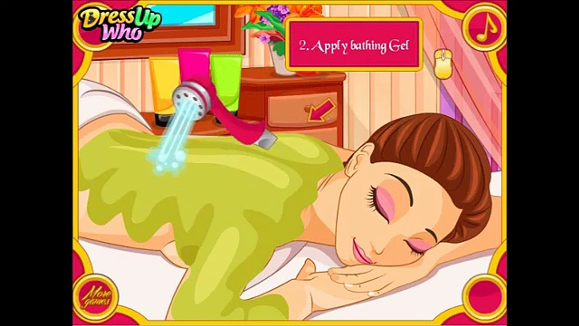 Spa Games For Girls Baby Barbie Pets Care Game