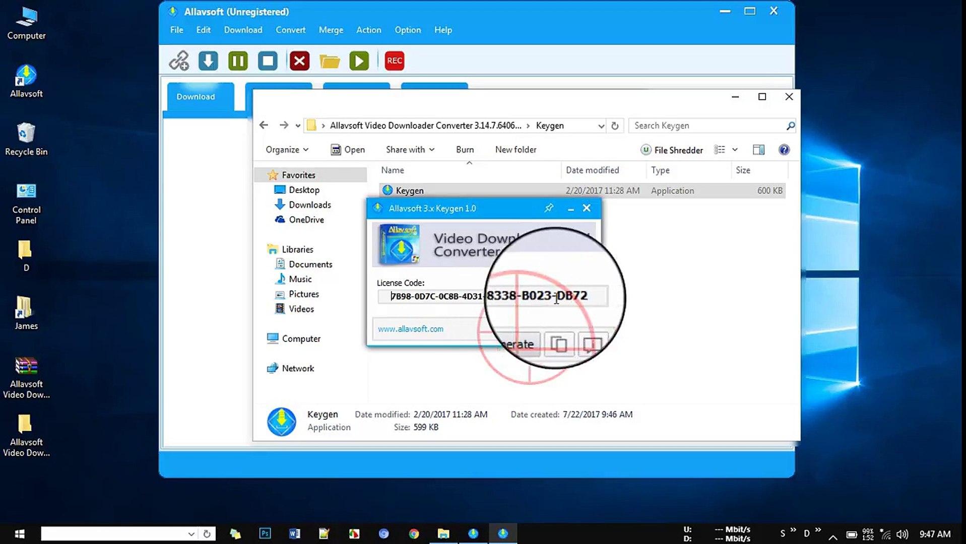 Allavsoft Video Downloader Converter 3 14 7 6406 Crack - Key full Download