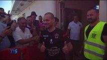 Wesley Sneijder, la nouvelle star de l'OGC Nice