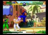 Street Fighter Alpha 3 Upper Shin Akuma + Evil Ryu (Dramatic Battle Survival Mode)