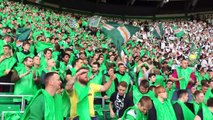 Green Brigade Display Celtic vs Rangers* | Celtic Fans Standing Section
