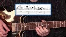 The Swing factor in Barney Kessels Lullabye of Birdland solo