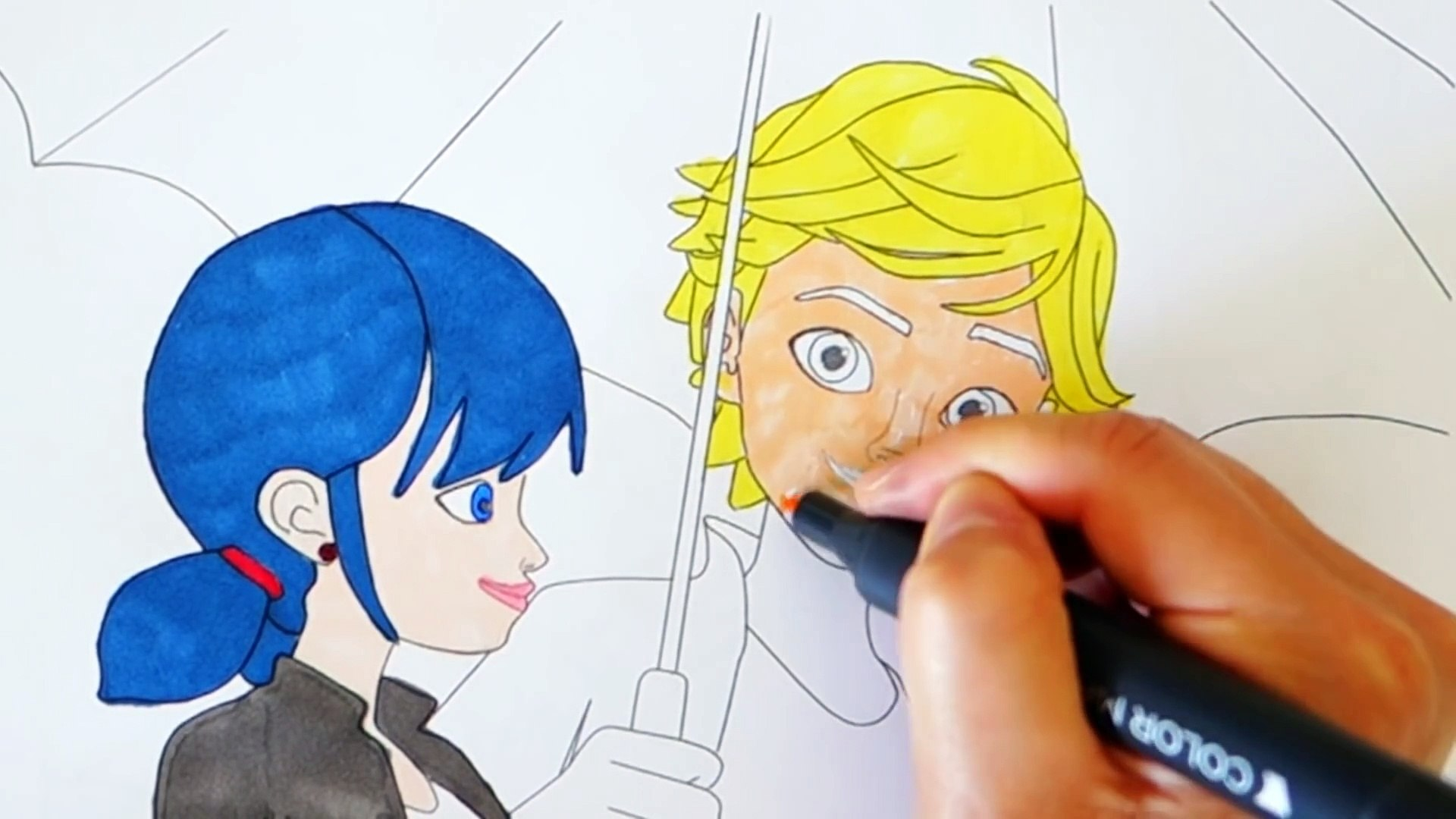 Coloring Ladybug And Cat Noir