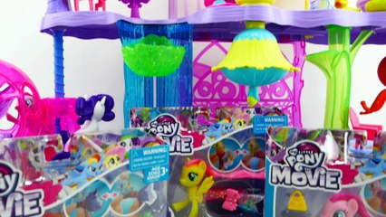 My Little Pony The Movie Land and Sea Fashion Styles Review Rainbow Dash Pinkie Pie Fluttershy