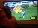 moi en train de jouer a dbz budokai tenkachi 2