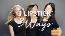 3 Ways To Use Your Favorite Lipstick | The Zoe Report by Rachel Zoe