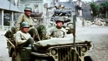 George Pattons speech to America WW2 in Color