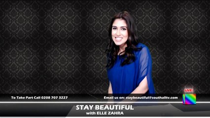 STAY BEAUTIFUL   Live with ELLE ZAHRA Episode 1