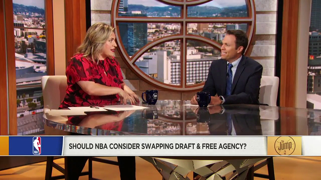 Should NBA Consider Swapping The Draft And Free Agency Dates_ _ The Jump _ ESPN